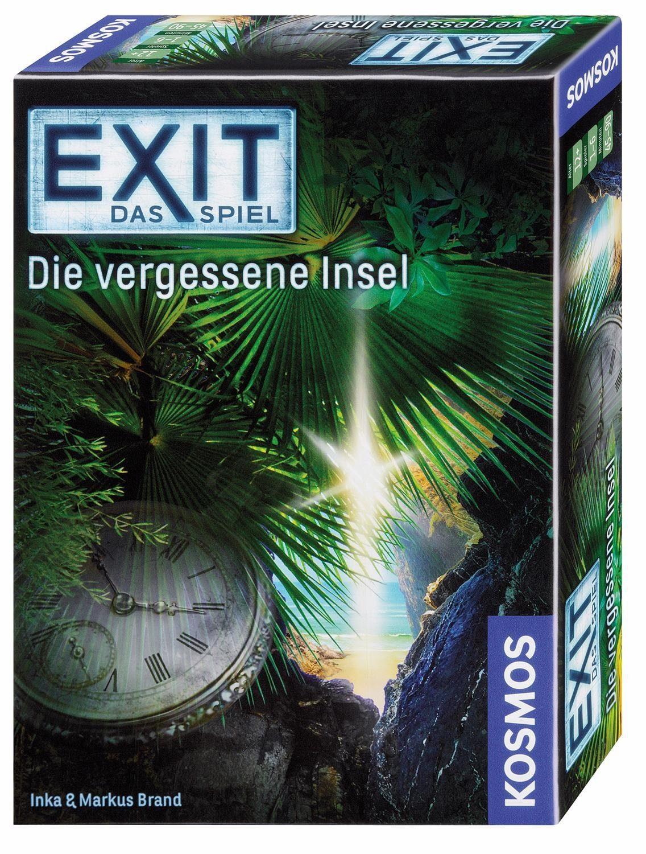 Kosmos Kartenspiel, »Exit Das Spiel, Die vergessene Insel«