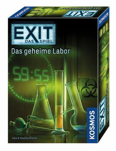 Kosmos Spiel, »Exit Das Spiel, Das geheime Labor«, Made in Germany