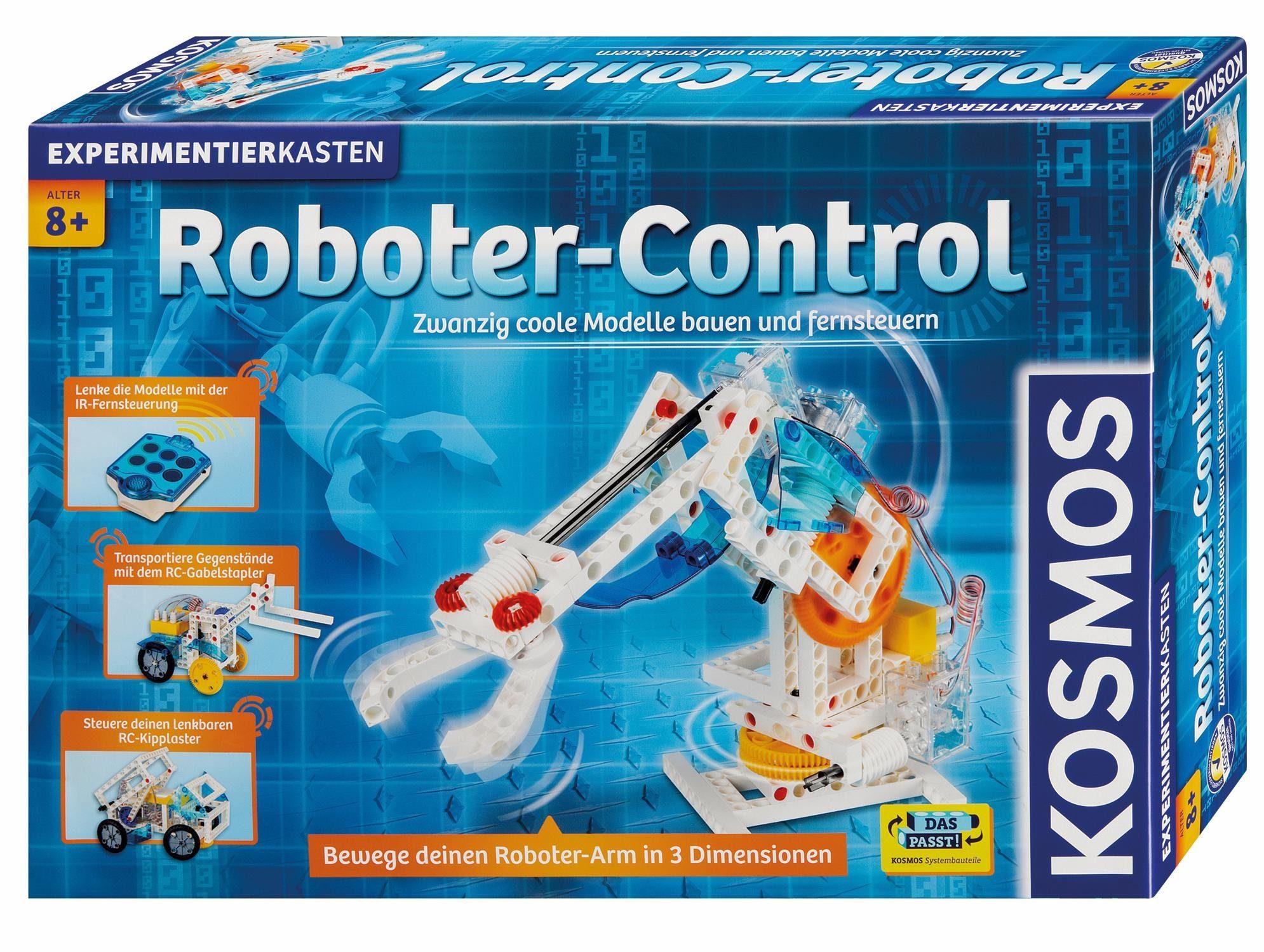 Kosmos Experimentierkasten, »Roboter Control«
