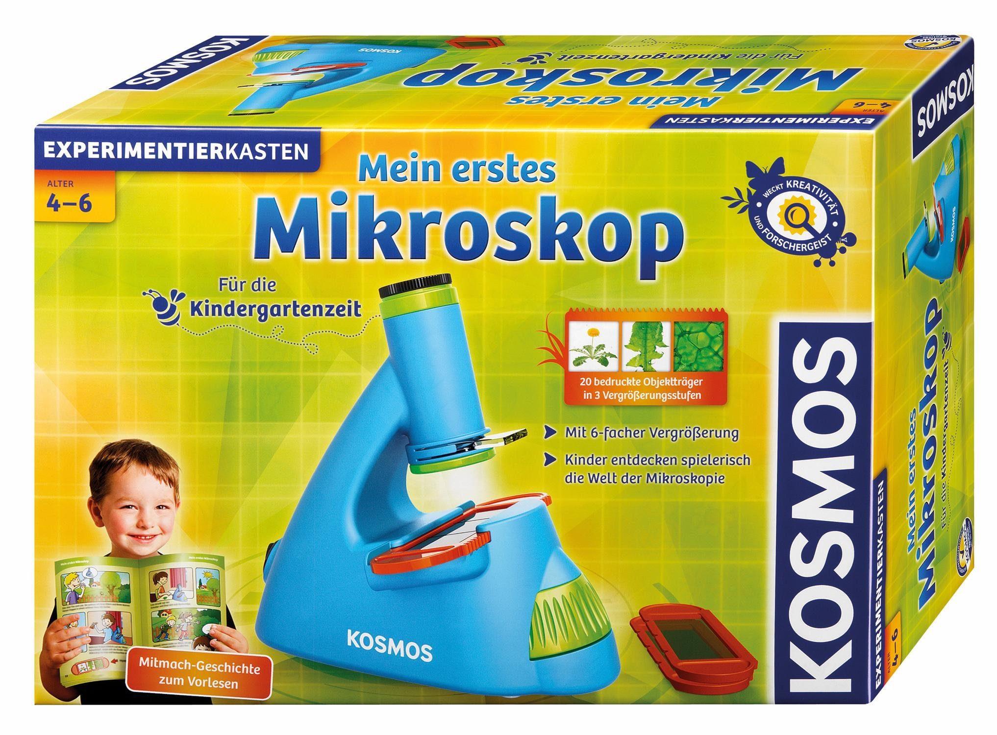 Kosmos Experimentierkasten, »Mein erstes Mikroskop«