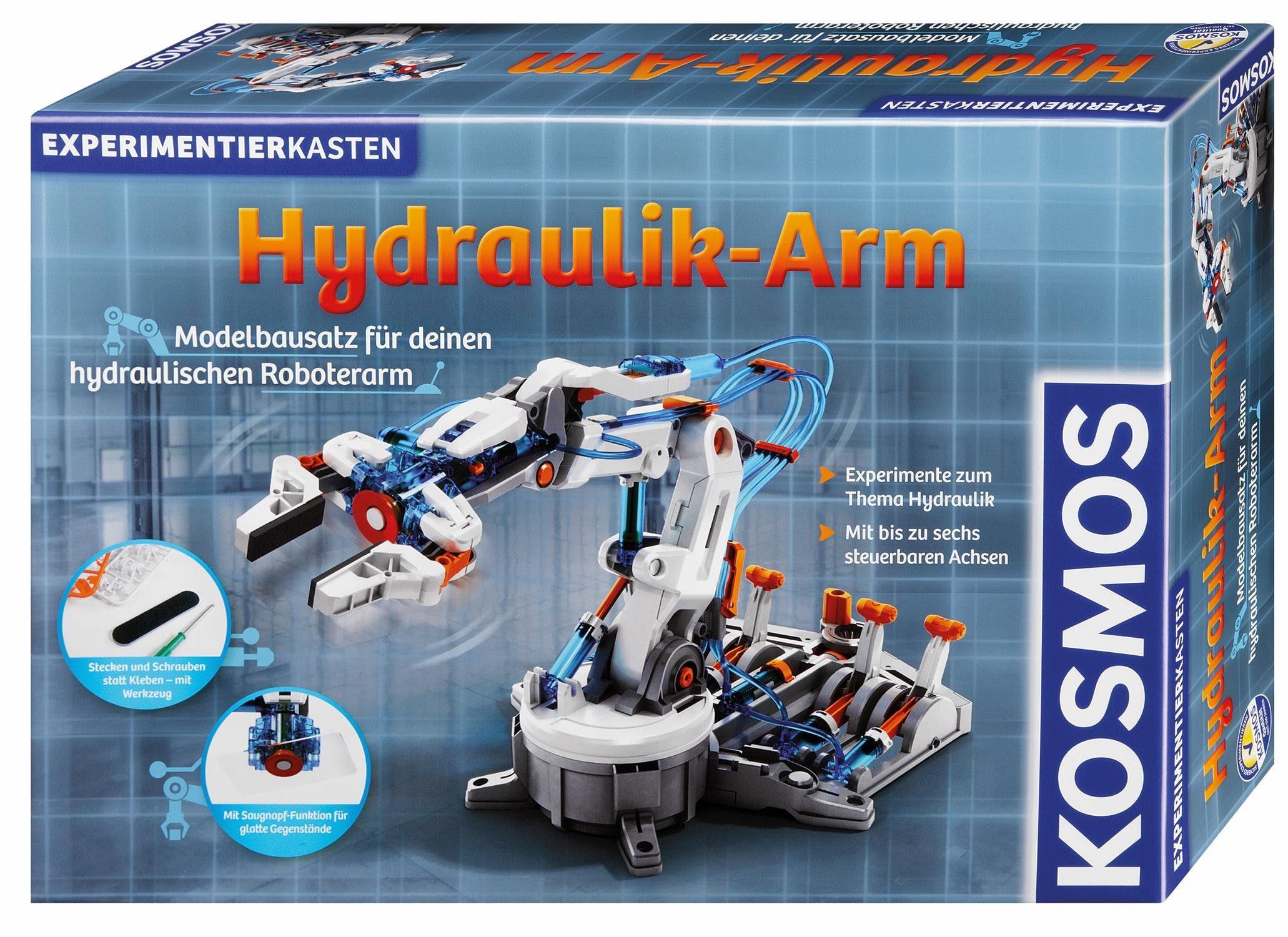 Kosmos Baukasten, »Hydraulik-Arm«