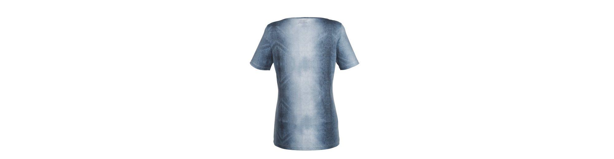 Laura Kent Shirt in trendy Denim-Druck Brandneues Unisex Günstiger Preis 2018 Neue Bestes Geschäft Zu Erhalten Online-Verkauf 9IupYU