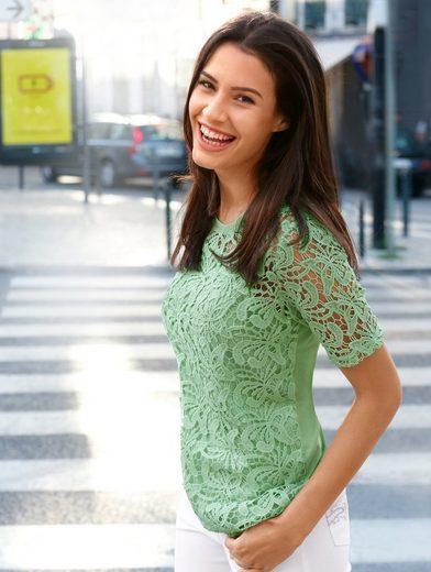 Paola Shirt in modischer Spitze