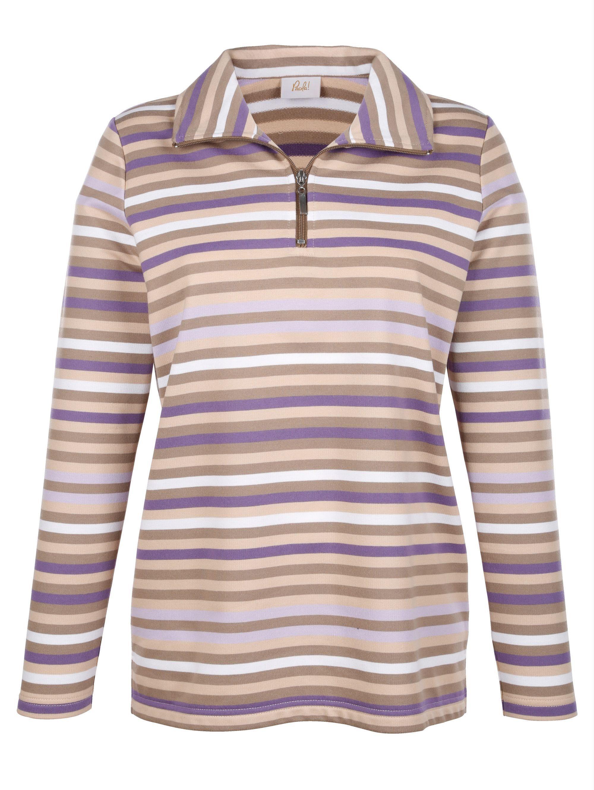 Sweatshirt Paola Streifen Mit Online Kaufen 76gfby