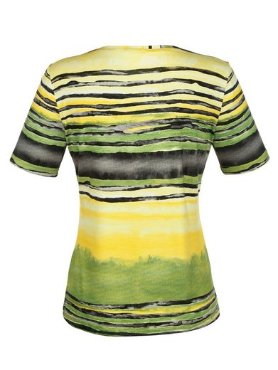 Paola Shirt mit modischem Streifenmuster