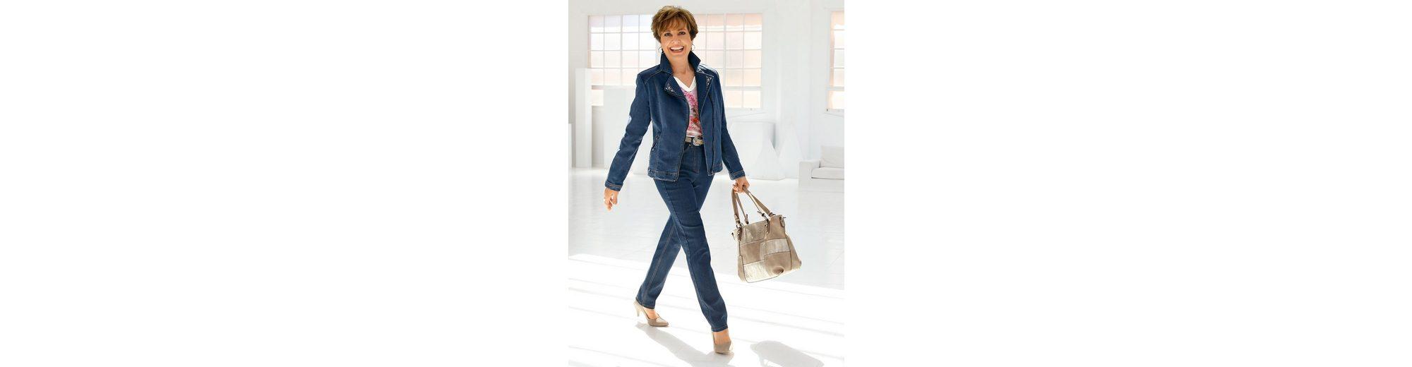 Paola Jeans mit Zierplättchen an den Gesäßtaschen Spielraum Mit Kreditkarte Offizieller Online-Verkauf Freiheit Der Billigsten 7dpWBu