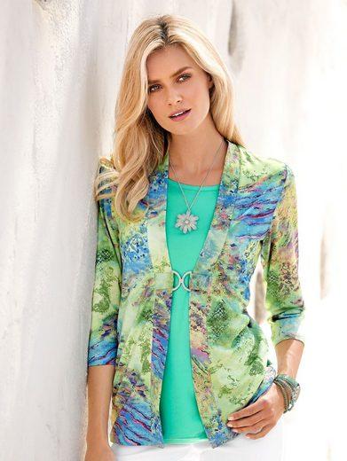 Paola Shirt mit sommerlichem Druck