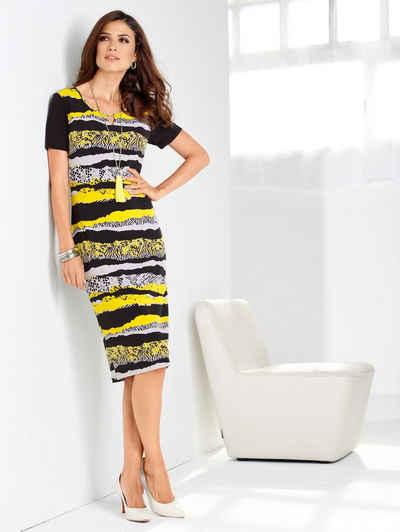 Paola Jerseykleid mit Aussparung am Ausschnitt Sale Angebote Kröppen