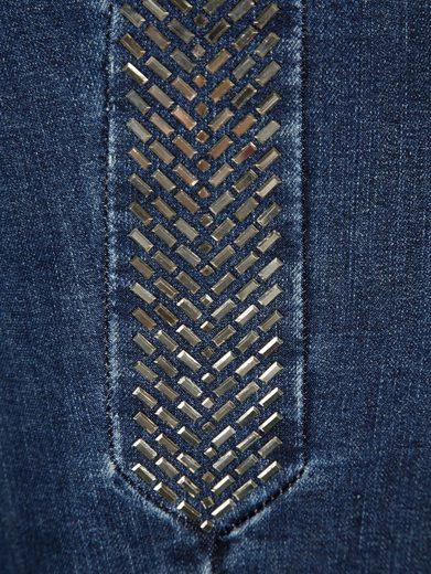 Paola Jeans mit dekorativen Stäbchenpailletten