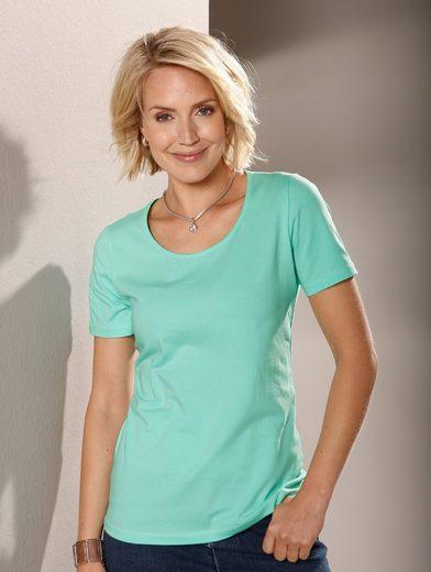Paola Shirt mit hohem Baumwollanteil