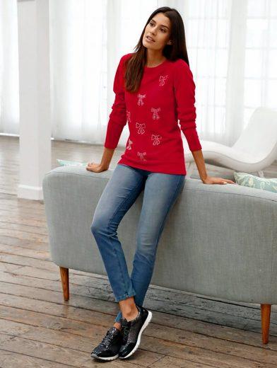 Laura Kent Jerseyhose Laura slim in Jeansoptik