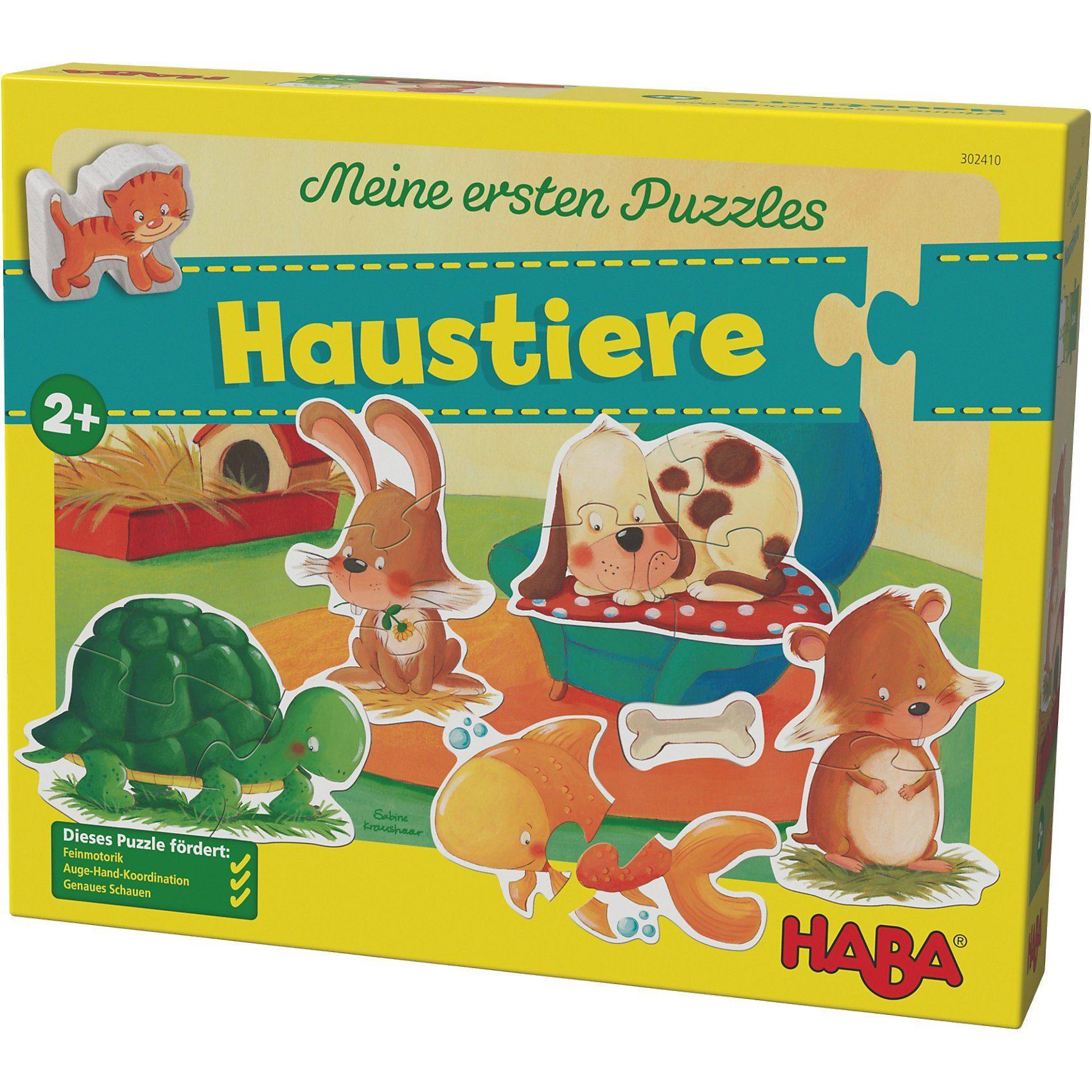 Haba Meine ersten Puzzles - Haustiere