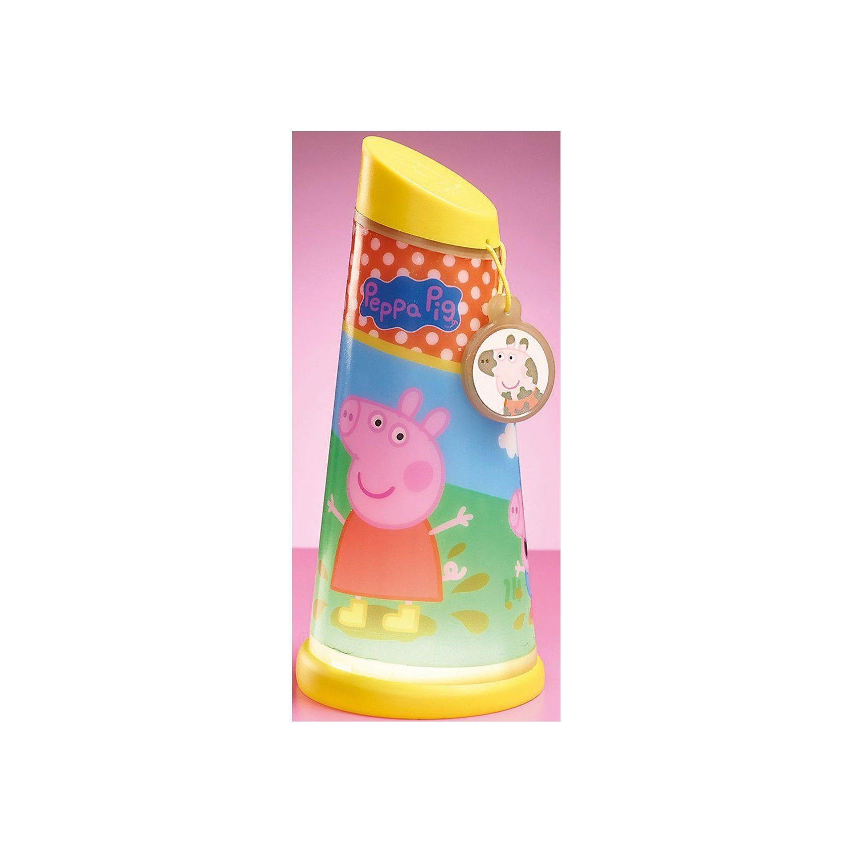 WORLDS APART Nachtlicht und Taschenlampe, Peppa Pig