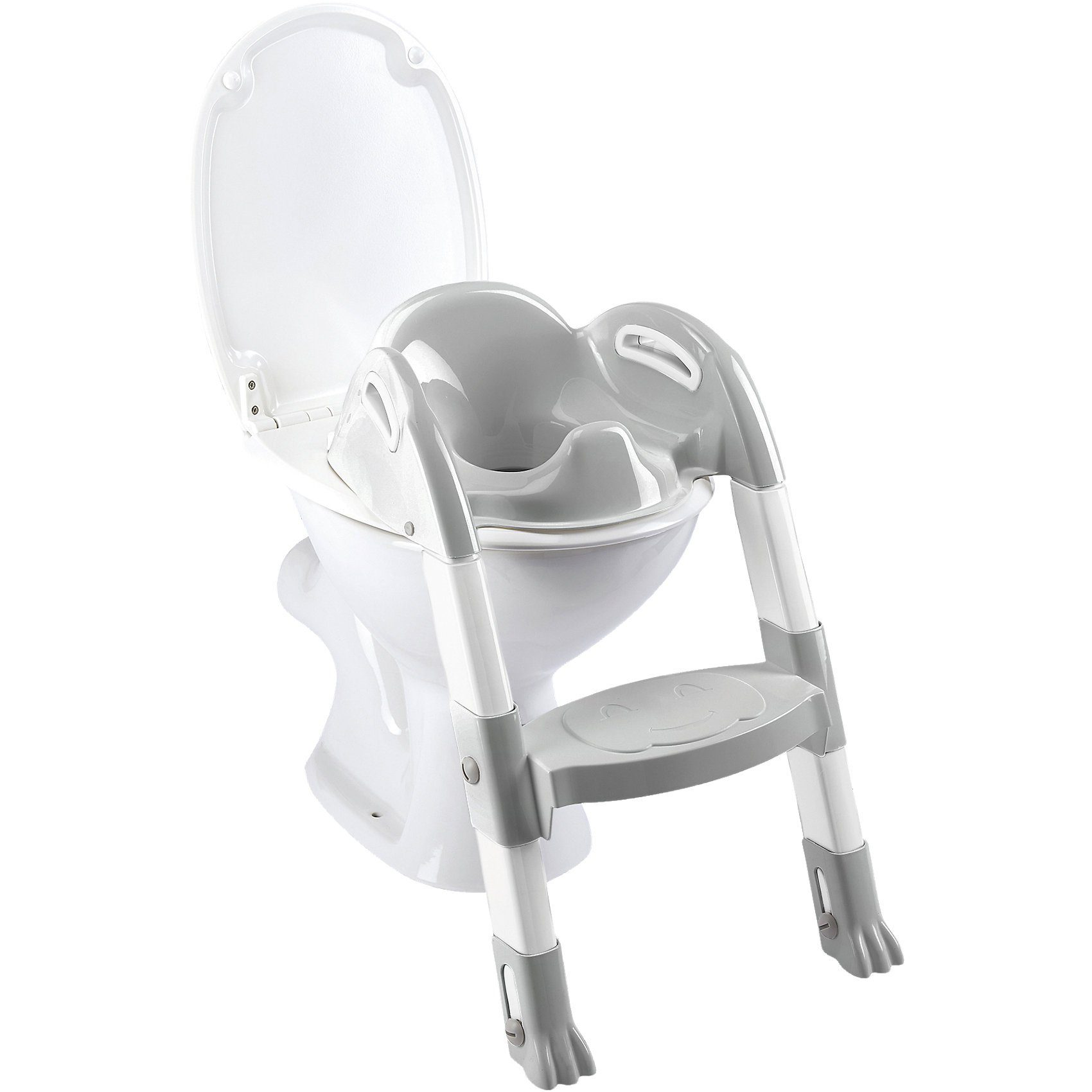 Funny Kiddyloo Toiletten-Trainer Cool grey/White