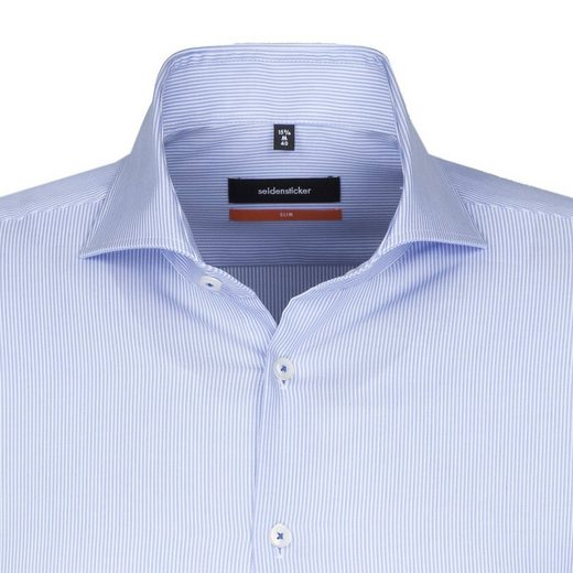 Seidensticker Business Shirt Slim, Hai-collar