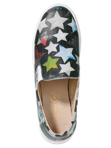Andrea Conti Slipper mit Sternen