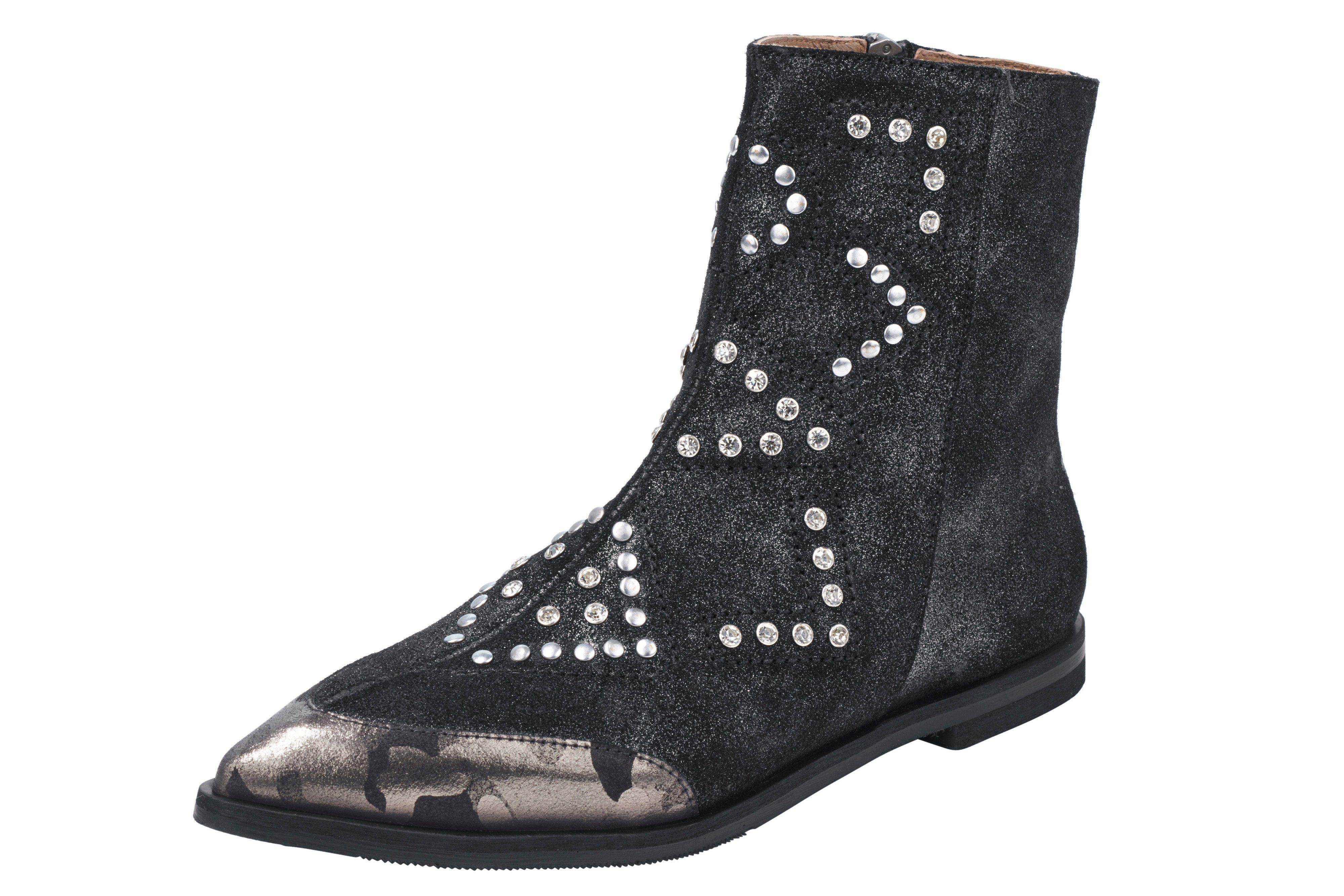 XYXYX Stiefelette online kaufen  schwarz#ft5_slash#metallic