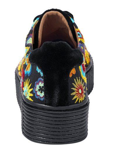 Heine Sneaker mit Blumen