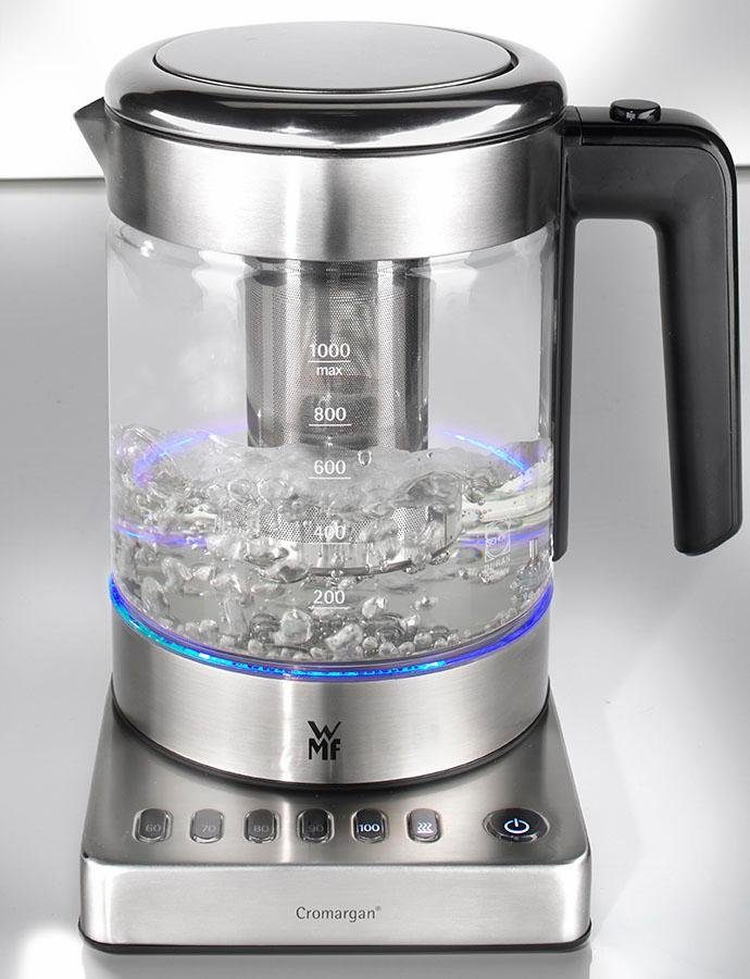 WMF KÜCHENminis® Glas-Wasserkocher Vario, 1,0 Liter, max. 1960 Watt
