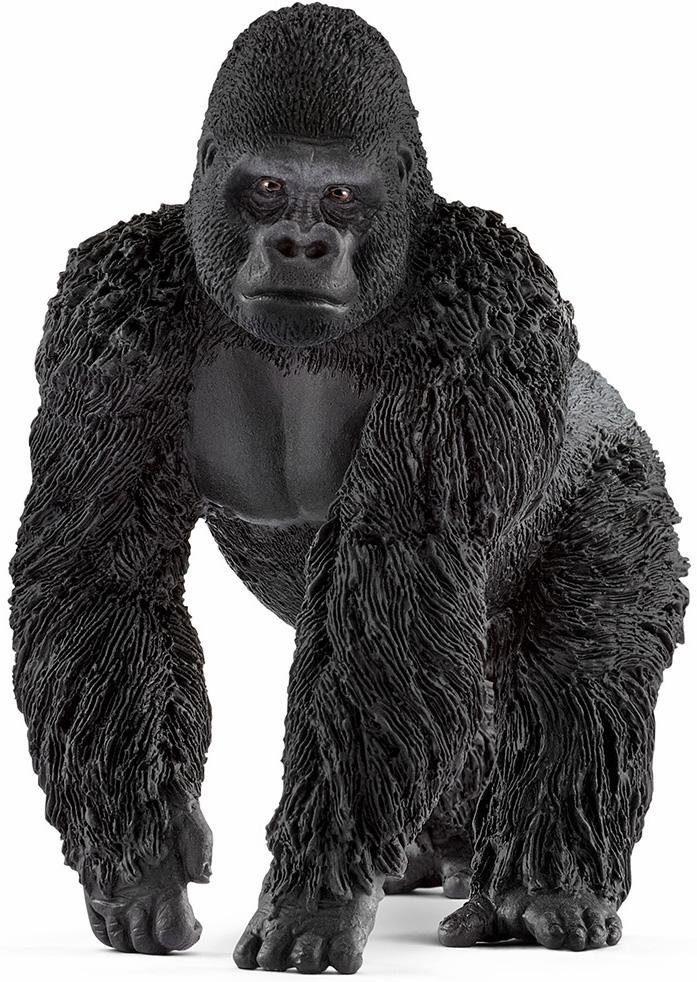 Schleich® Spielfigur (14770), »Wild Life, Gorilla Männchen«
