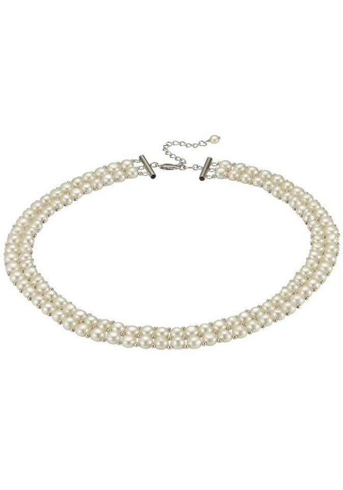 Adriana Perlenkette »La mia perla, A105« mit Süßwasserzuchtperlen | Schmuck > Halsketten > Perlenketten | Weiß | Adriana