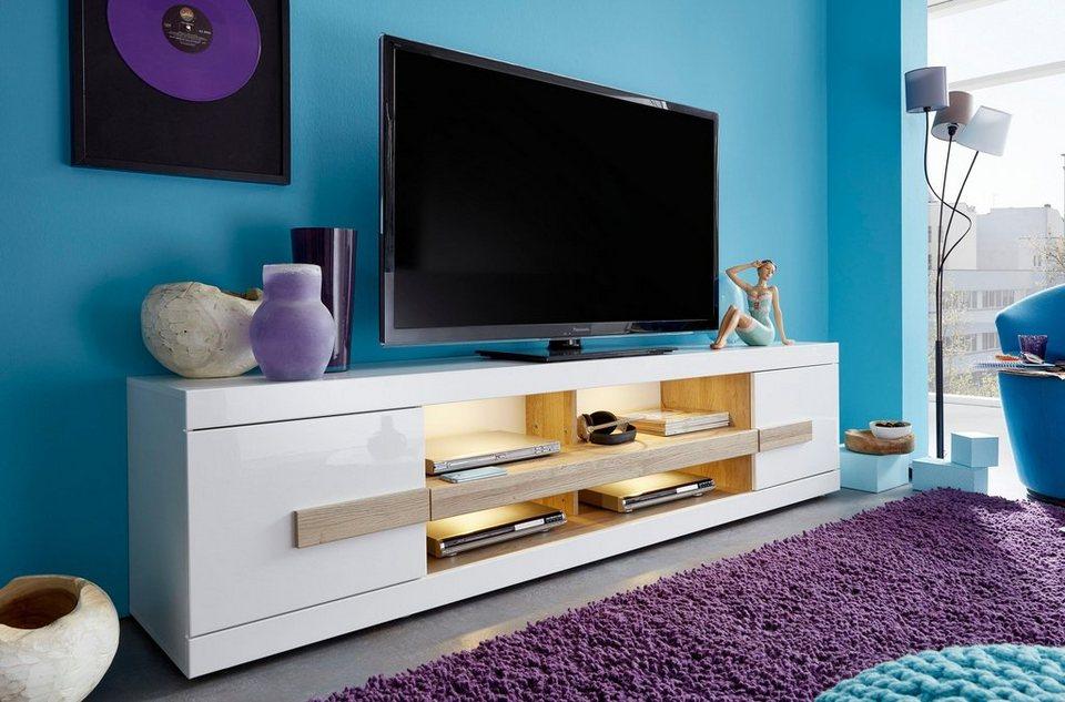lowboard breite 200 cm online kaufen otto. Black Bedroom Furniture Sets. Home Design Ideas