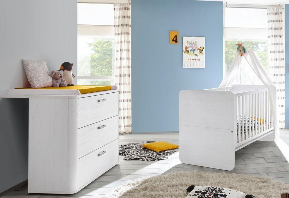 spar set lillesand 2 tlg in pinie nb wei otto. Black Bedroom Furniture Sets. Home Design Ideas