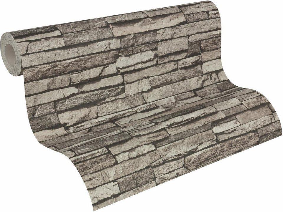 vliestapete livingwalls dekora natur in eleganter. Black Bedroom Furniture Sets. Home Design Ideas