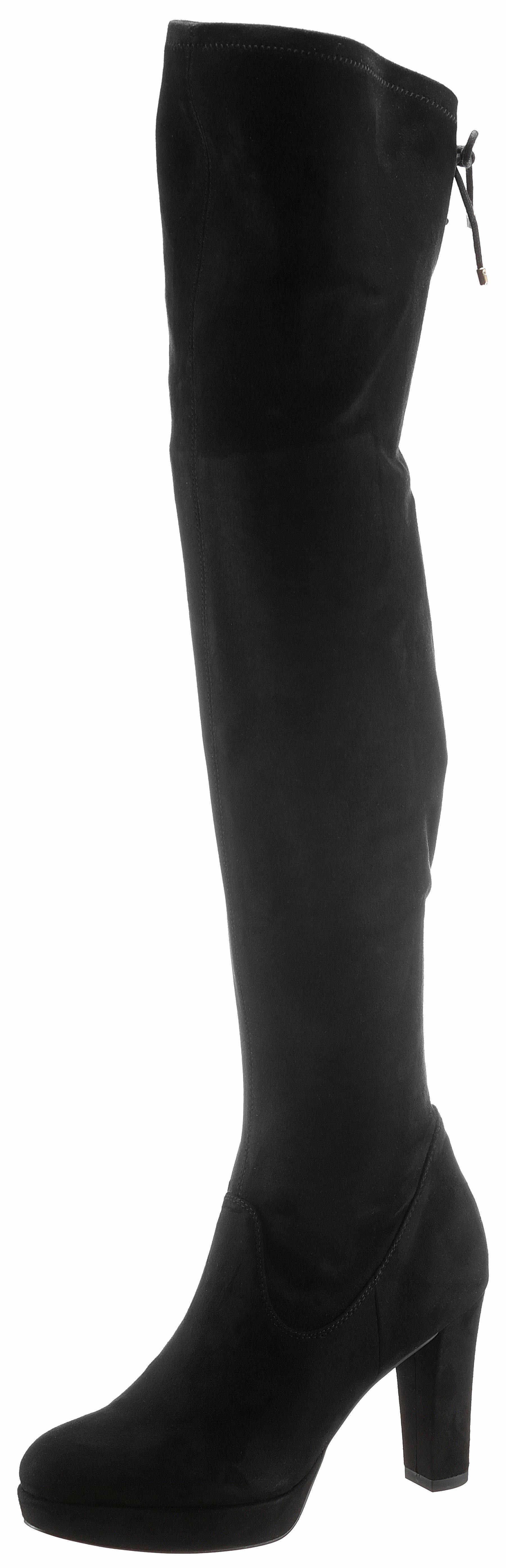 Tamaris Heart & Sole Overkneestiefel, mit XS-Schaft online kaufen  schwarz