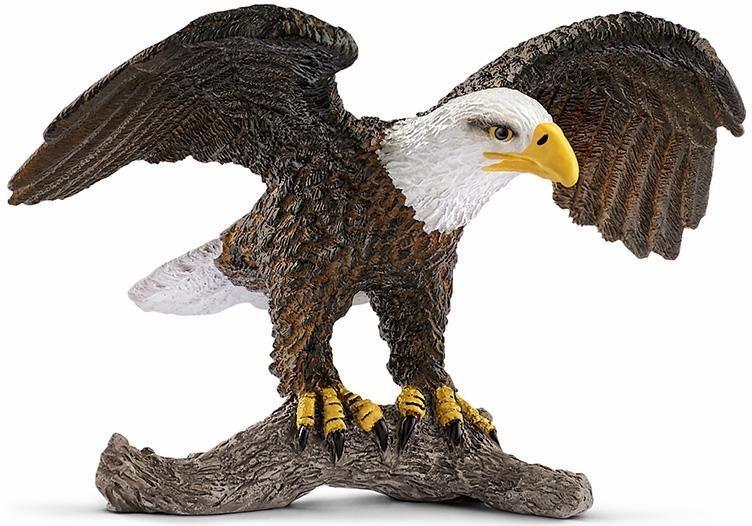 Schleich® Spielfigur (14780),  Wild Life, Weißkopfseeadler  online kaufen