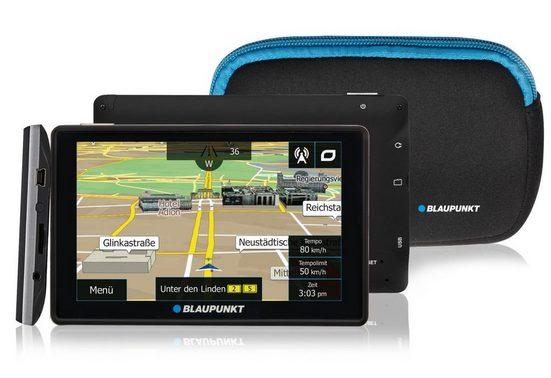 Blaupunkt Navigationsgerät »Travelpilot 53² EU LMU inkl. Tasche«