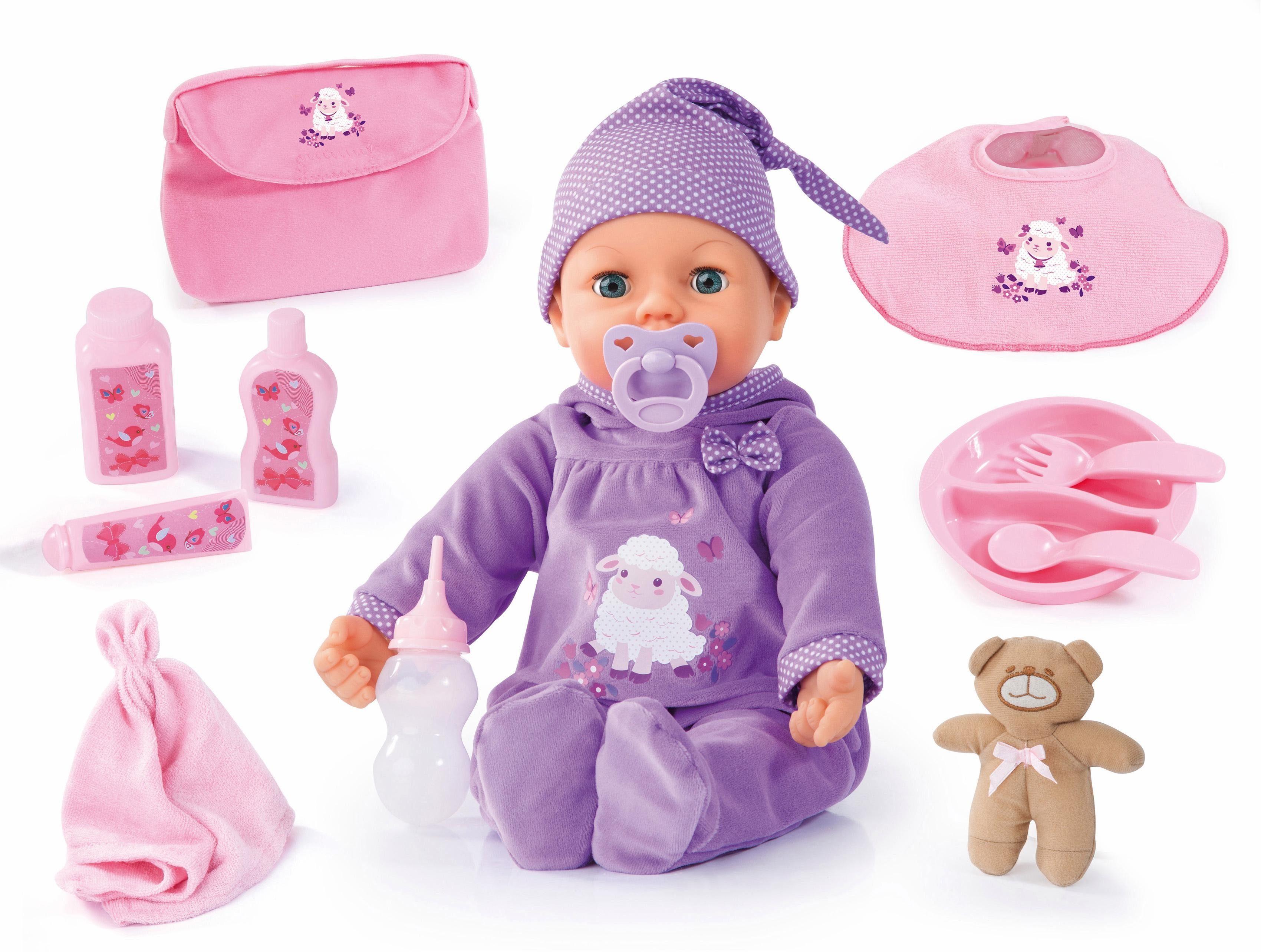 Bayer Design Babypuppe mit Funktion und Zubehör, »Piccolina Real Tears, 46 cm«