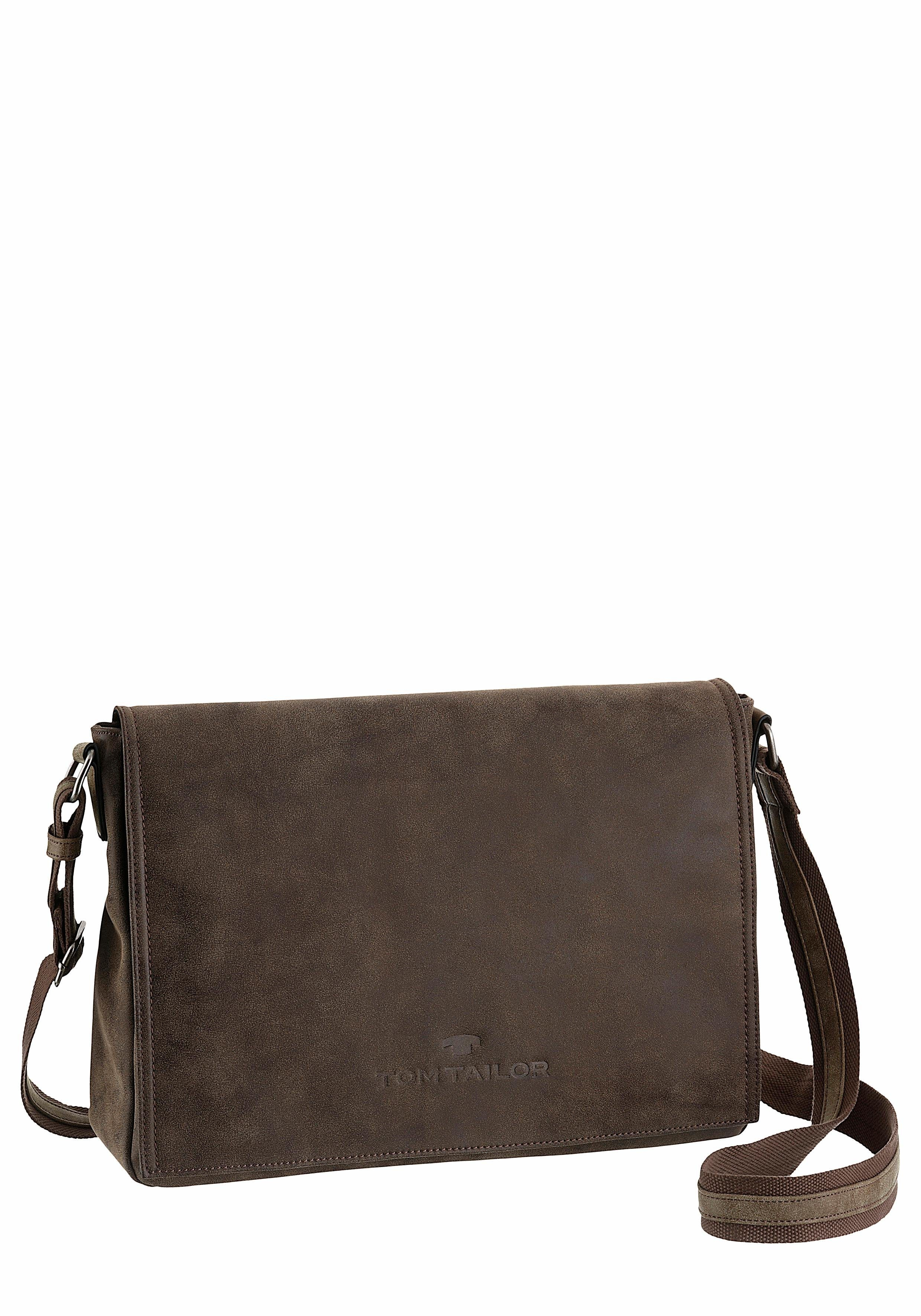 Tom Tailor Messenger Bag »NILS«, mit gepolstertem Tabletfach