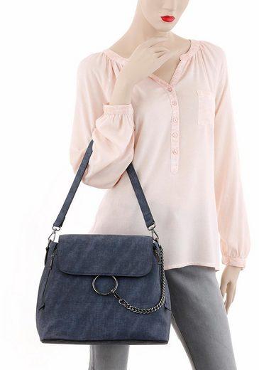 Laura Scott Cityrucksack, 3 in 1 auch als Handtasche oder Crossbody-Bag tragbar