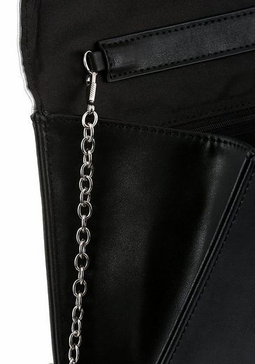 Bruno Banani Clutch, With Capes Chain
