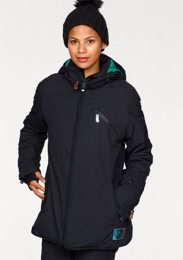Chiemsee Snowboardjacke, Hochbauschisolierung: komfortabel, warm und extrem haltbar