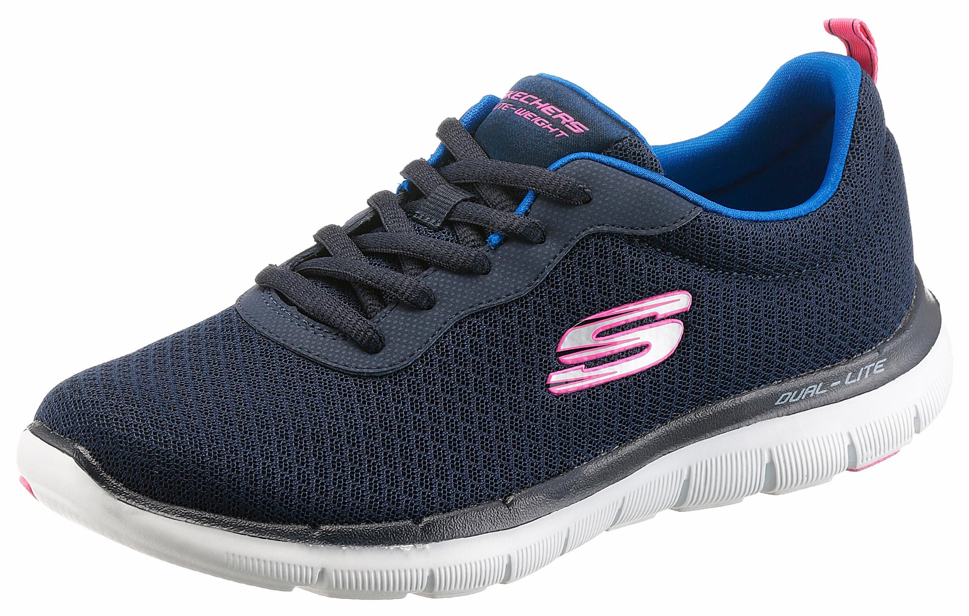 Skechers »FlexAppeal 2.0 Newsmaker« Sneaker, mit Memory Foam, blau, navy
