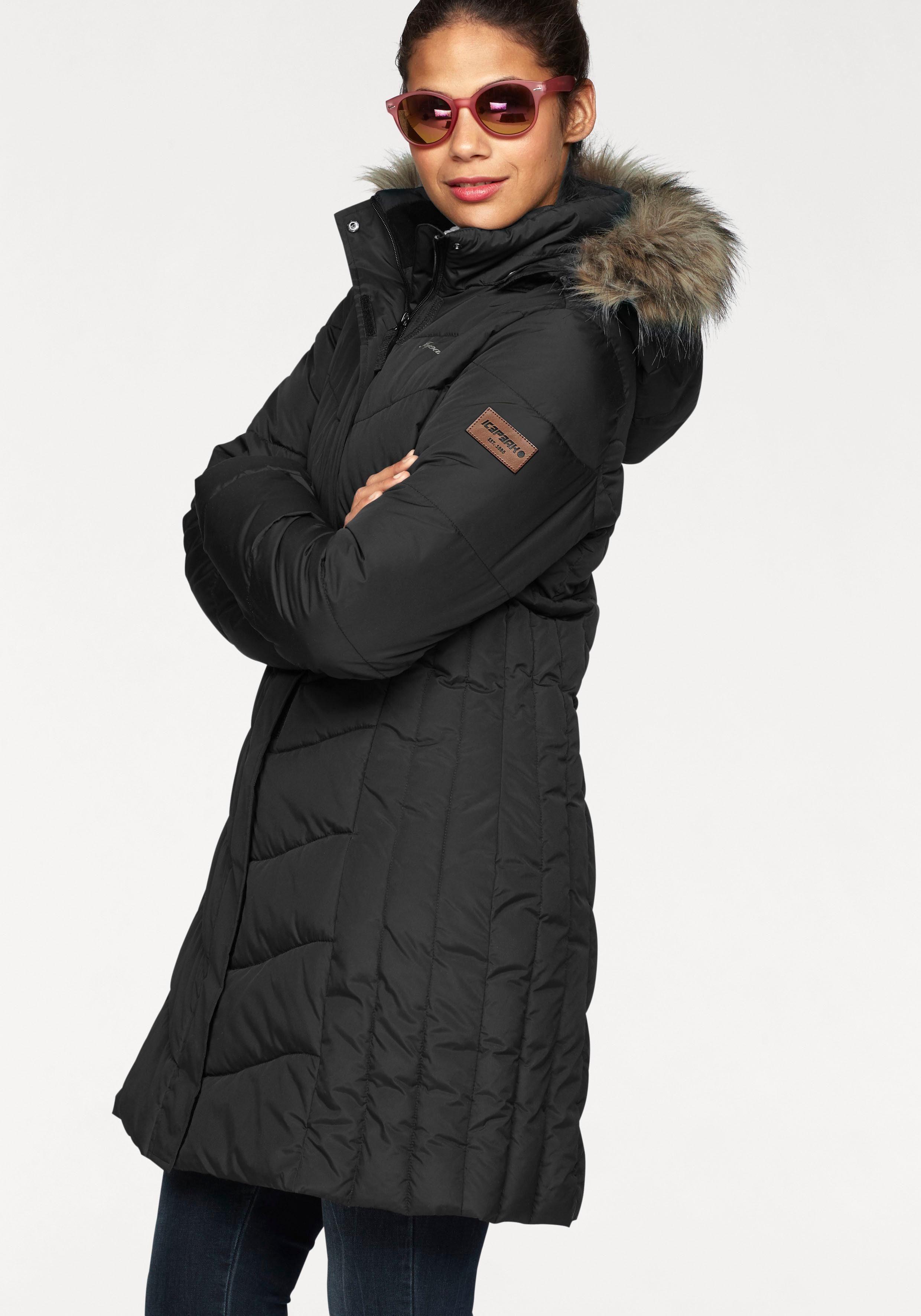 Icepeak Wintermantel »PAIVA«, Wasserabweisend, winddicht, atmungsaktiv online kaufen | OTTO