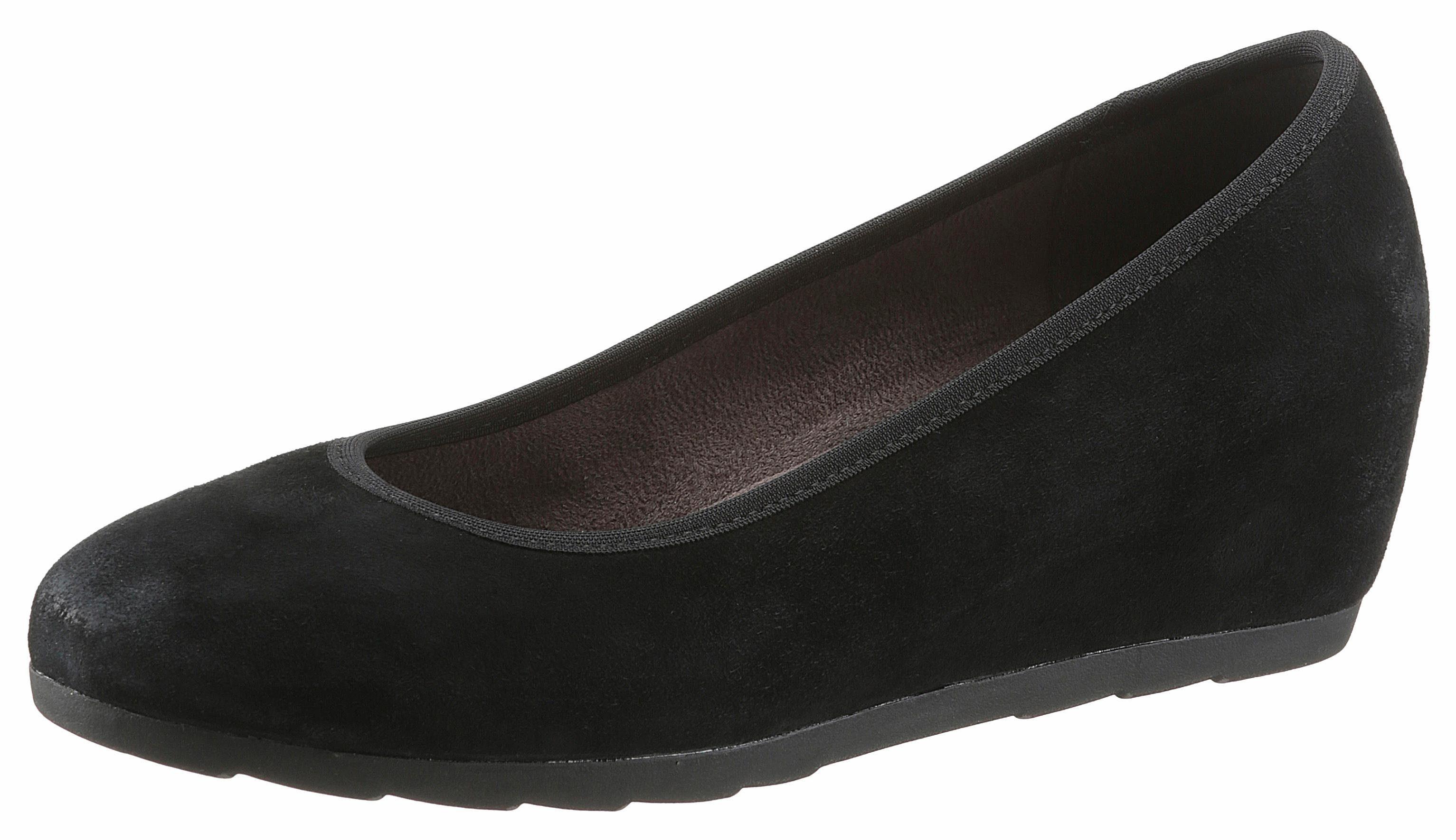 Jana Pumps, in Schuhweite: H (sehr weit), schwarz, schwarz