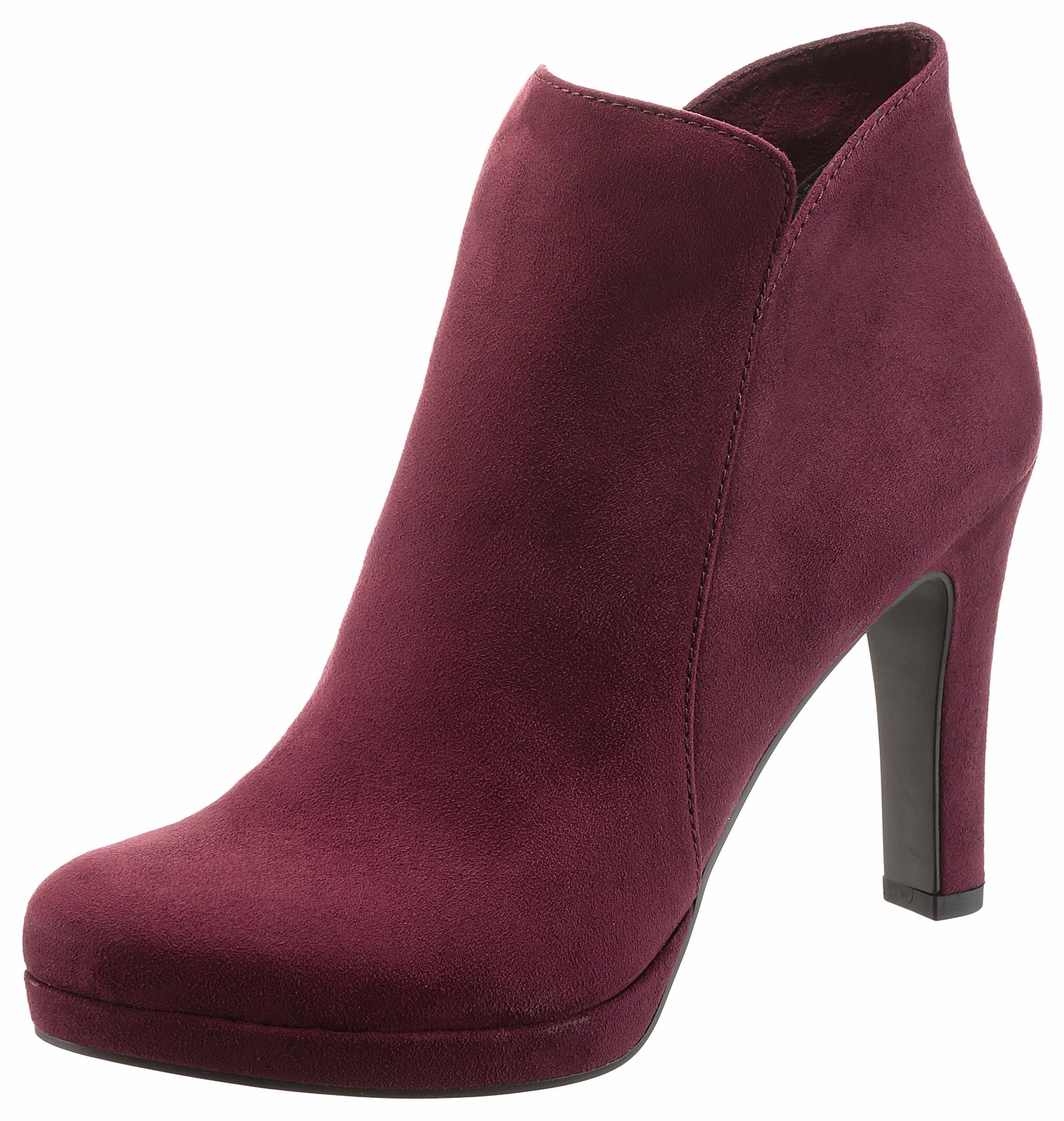 Tamaris High-Heel-Stiefelette, im femininen Look, rosa, EURO-Größen, rosa