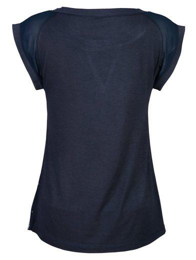 Alba Moda Shirt im Materialmix