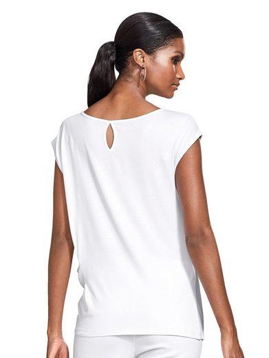 Alba Moda Shirt aus reiner Viskose