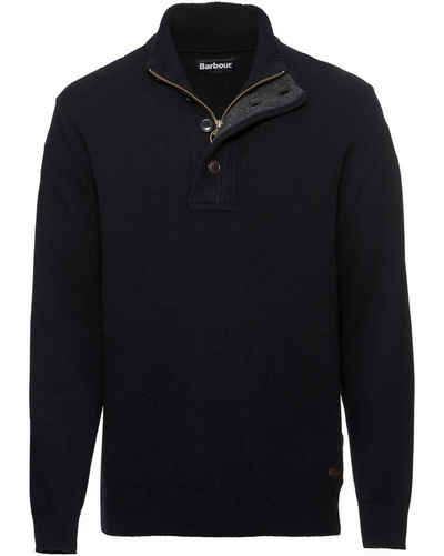 Barbour Strickpullover »Troyer Patch«