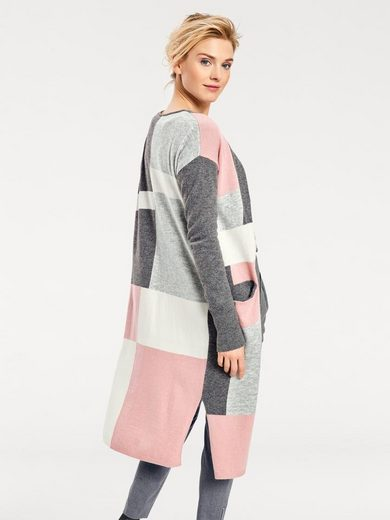 B.C. BEST CONNECTIONS by Heine Oversized-Jacke mit Farbmix