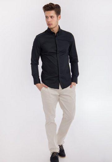 Mexx Langarmhemd, mit aufgesetzter Tasche