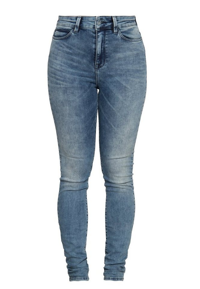 mexx skinny fit jeans high waist 5 pocket mid blue wash online kaufen otto. Black Bedroom Furniture Sets. Home Design Ideas