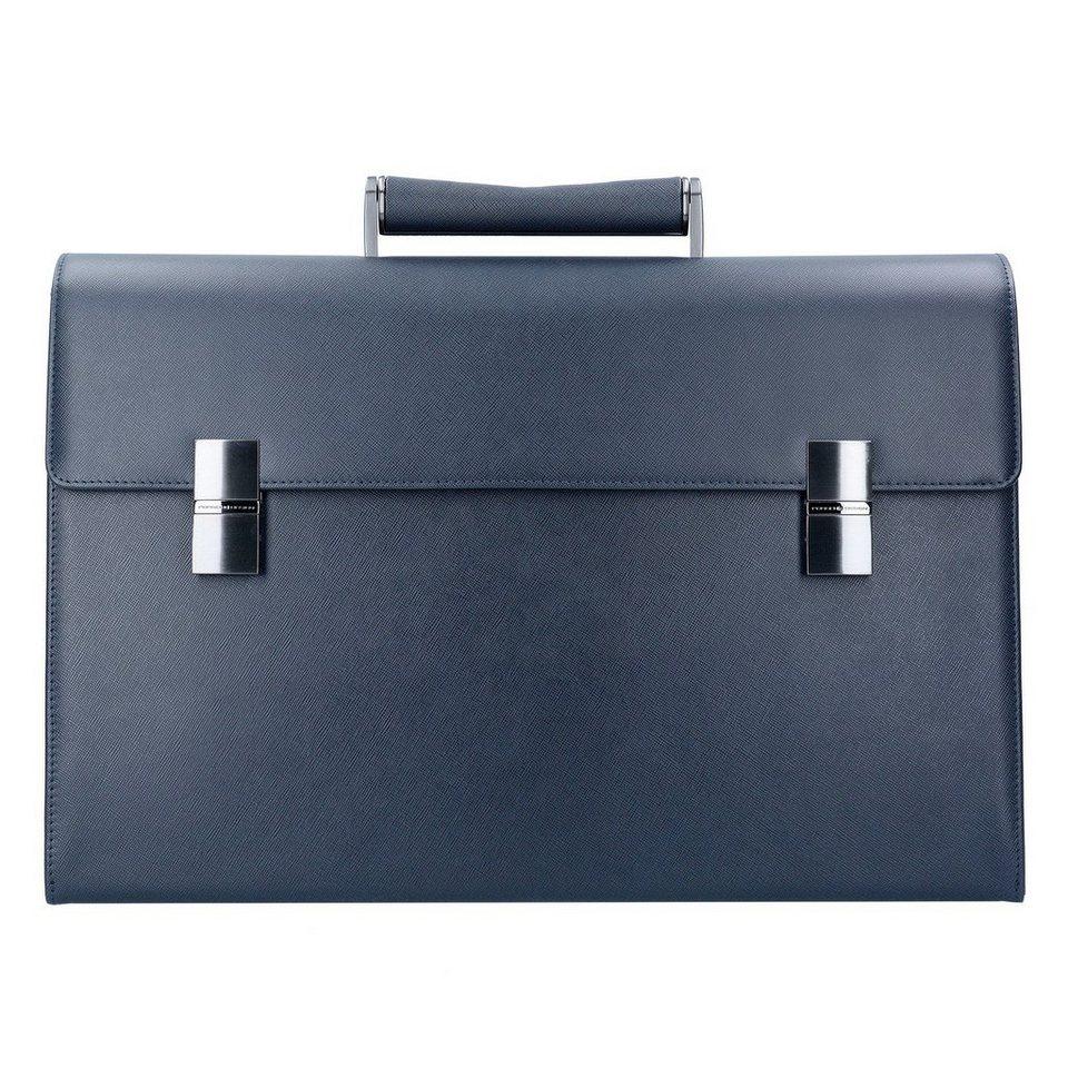 porsche design saffiano briefbag fm aktentasche leder 43. Black Bedroom Furniture Sets. Home Design Ideas