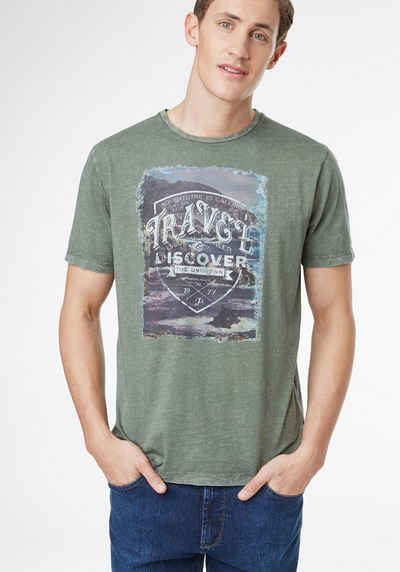 PIONEER T-Shirt Herren »T-Shirt« Sale Angebote Tschernitz
