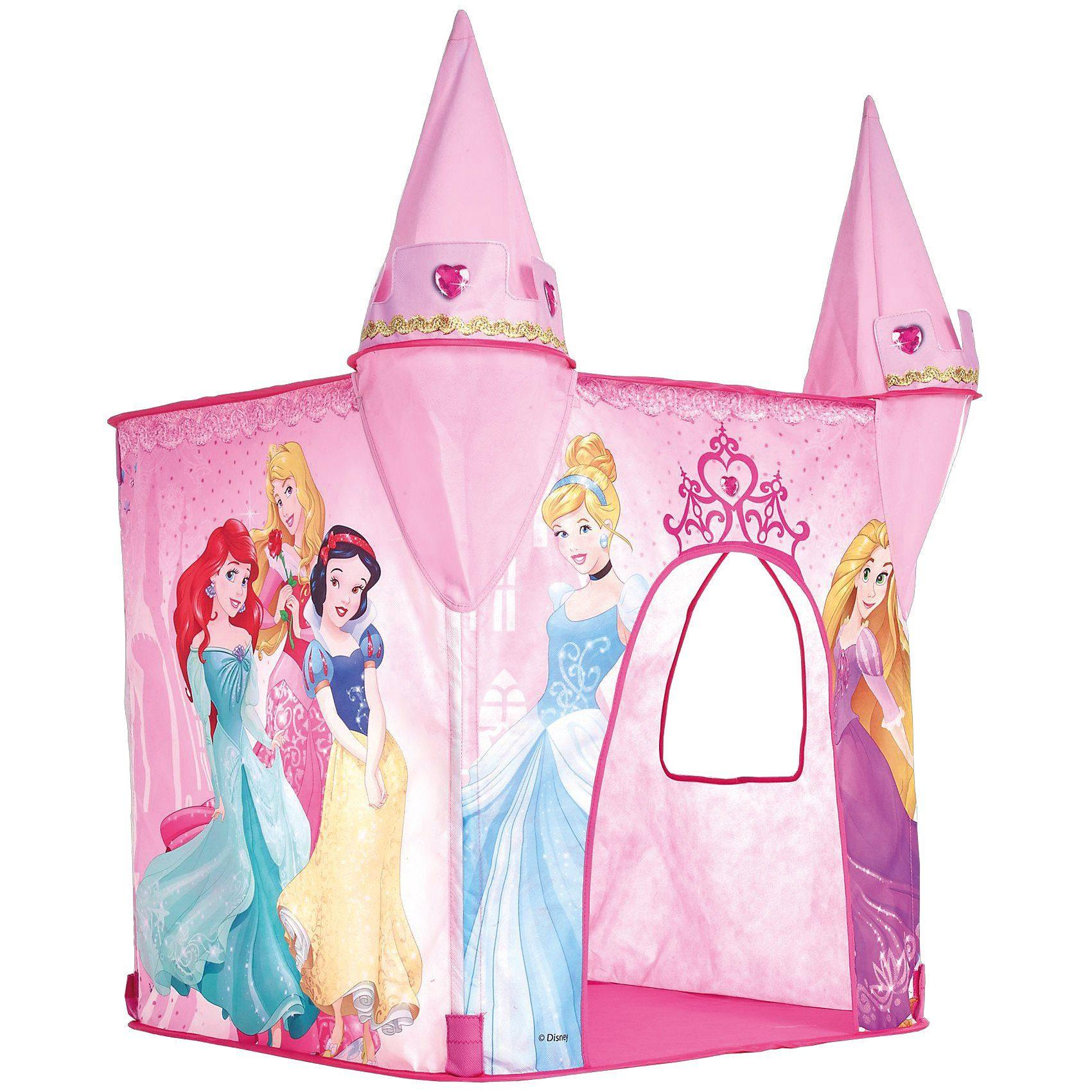 WORLDS APART Spielzelt mit 2 Türmen, Disney Princess