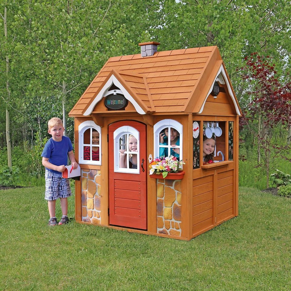 Kidkraft Stoneycreek Cedar Gartenspielhaus Kaufen Otto